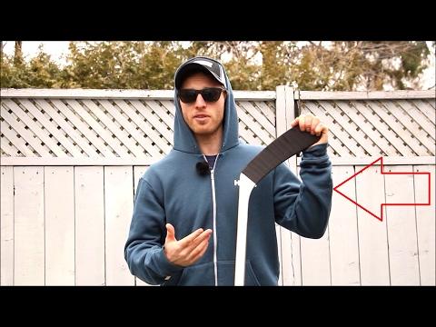 HOW I TAPE MY HOCKEY STICK