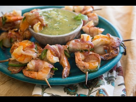 How to Make Bacon-Wrapped Shrimp with Jalapeño