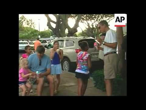 US president buys ice creams for family during his holiday in Hawaii