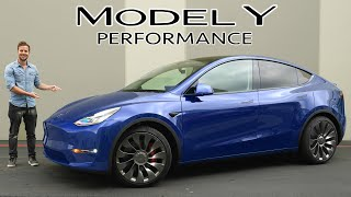 2020 Tesla Model Y Performance FULL REVIEW // What Have They Done