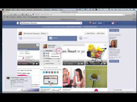 How to Sort Your Facebook Page Posts by Category Using Photo Albums