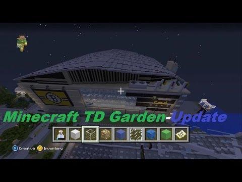 Minecraft TD Garden-Update #2-(New bridges and skyscrapers!)