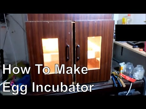 How to make 200 egg incubator automatic temperature - incubator - homemade incubator