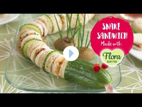 Sammy the Sizzling Snake Sandwich (Dairy Free)
