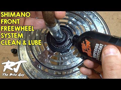 Shimano Front Freewheel (FFS) Clean, Flush & Lube - Crankset & Bottom Bracket