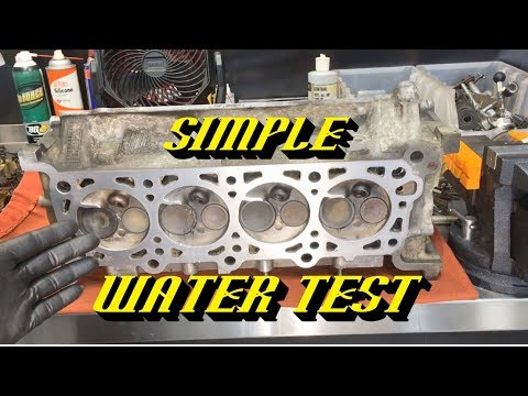 Diagnosing Hard to Find Engine Misfires With a Simple Water Test