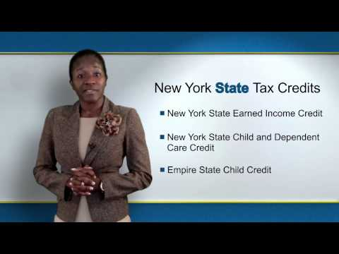 New York State Tax Credits for Working Families