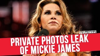 Private Photos Leak Of Mickie James