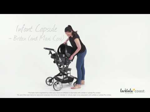 Larktale coast™ Adaptable Travel System Instructions