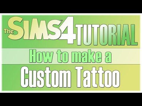 The Sims 4 Tutorial: How to create a Custom Tattoo