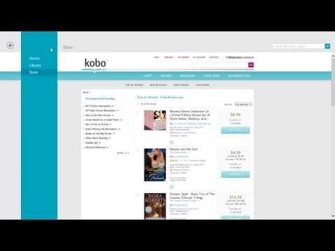 Kobo Books eReader app for Windows 8 [overview]