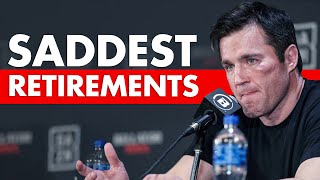 10 Most Emotional Retirements in MMA History
