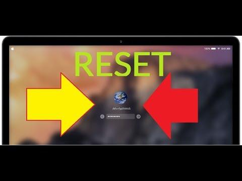 Macbook Pro / AIr  2016 2017 ***  How To RESET FORGOT PASSWORD *