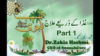 10.AGhaza k Zariay ilaj-Part1       Dr.Zakia Hashmi