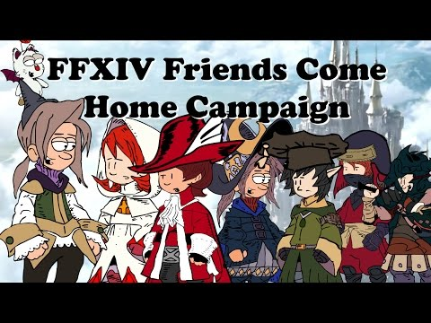 FFXIV Friends Come Home Campaign - How to Invite your friends back for rewards for you and them