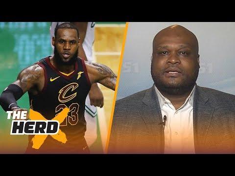 Antoine Walker on LeBron's GM 1 strategy, Talks where LeBron will land next season   NBA   THE HERD
