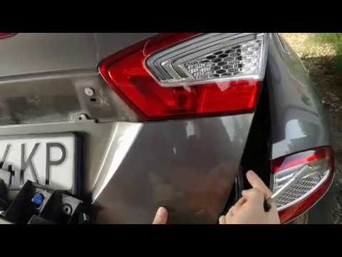 Ford Mondeo MKIV rear inner tail light lamp removal