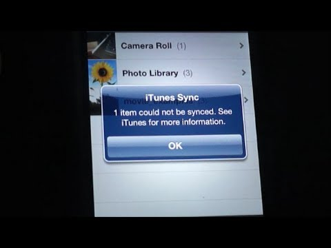Tech Tip #20 iPhone - Transfer Photos and Movies from PC to iPhone
