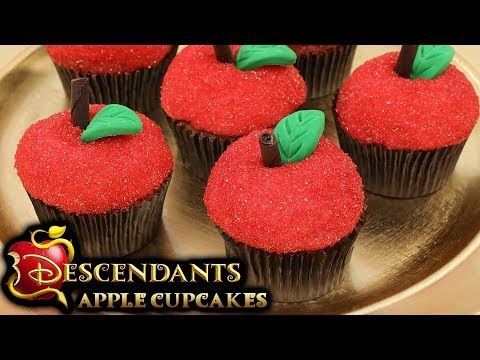 DESCENDANTS APPLE CUPCAKES - NERDY NUMMIES