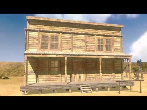 iClone Props Old West  - House from DAZ