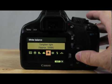 How  To White Balance With Canon T2I or T3I