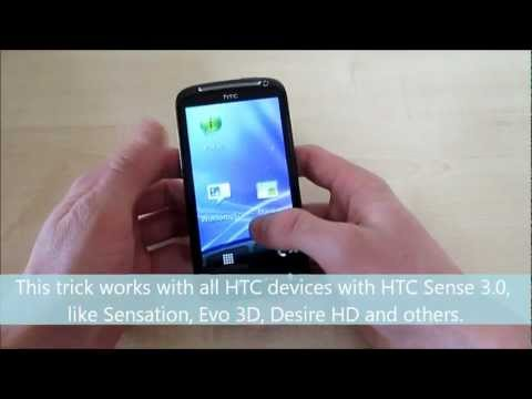 How To Make Screenshots On Htc One One X Sensation Others Htc With Ht