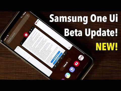 Samsung One Ui Beta 5 running on Galaxy S9 Plus w/ Android Pie 9.0
