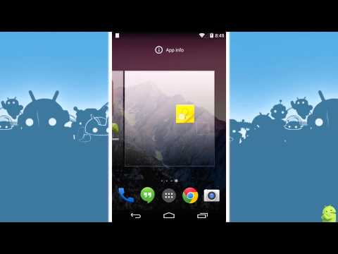 How to add home screens in Android 4.4 KitKat