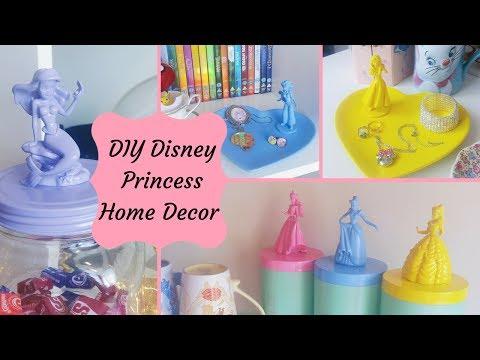 Disney Princess Home Decor   DIY
