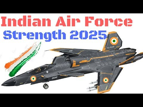 Indian Air Force Strength 2025, fire power, Number Of Fighter jet
