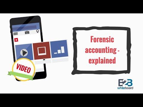 Forensic accounting - explained