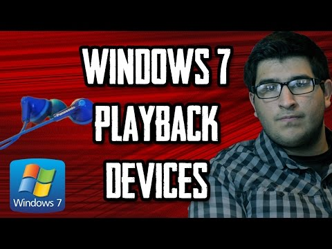Fix Windows 7 Audio: Playback Devices [CLICK CC BUTTON FOR SUBTITLES]