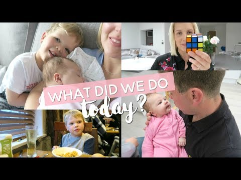 Day in the life | Swimming, Rubix Cube, Lazy Day and Dinner Out with the Kids