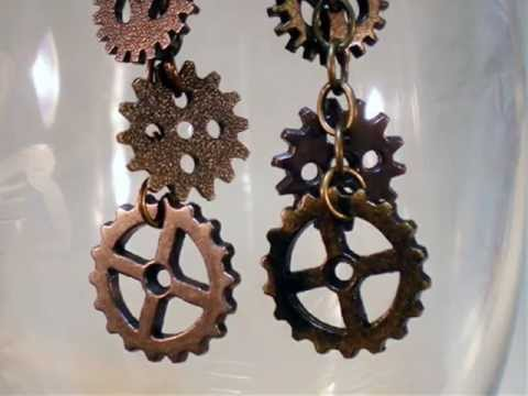 How to Make Steampunk Earrings
