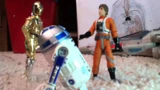 Star Wars Action Figures Episode 1: Luke Meets the Droids