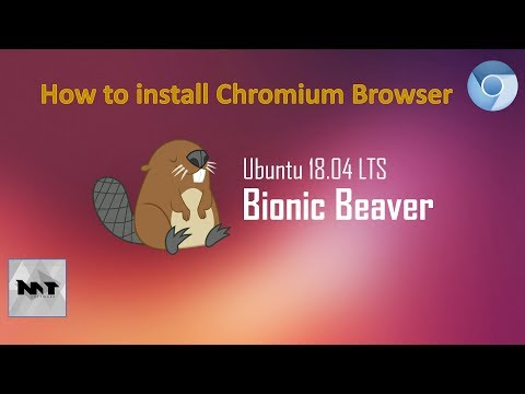 How to install Chromium Browser on Ubuntu 18.04