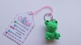 Rana Portachiavi Amigurumi Tutorial 🐸 Frog Keychain Crochet ...   180x320
