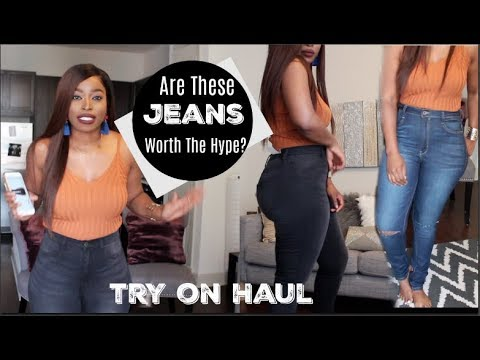 Best Jeans I own?? Monotiques Jean Try On Haul: Are they Worth the Hype? 😱(Thick/Curvy Girl)