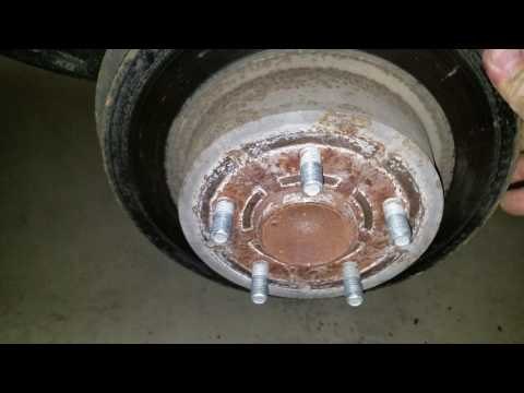 How to install rear brakes on a 2014 Ford Escape