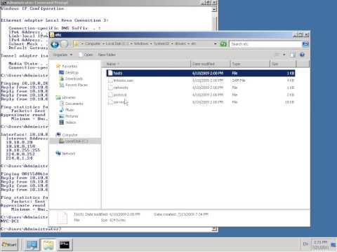 Ping MAC in Windows 2008 R2