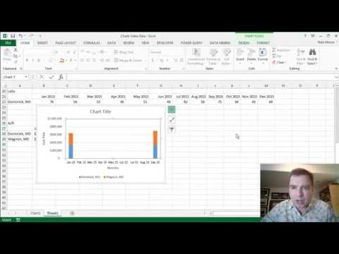 Excel Video 444 Axis Titles