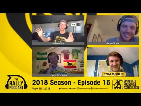 The Rally Podcast - 2018 Season, Episode 16 - Talking with Spikeball Inc. Videographer Tom Goulet