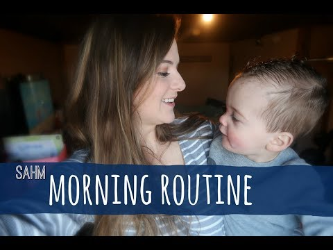 MOMMY MORNING ROUTINE | SAHM EDITION (COLLAB!)