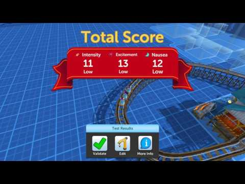 RCT Touch: Building Coasters
