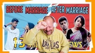 Before Marriage & After Marriage Sothanagail | MicSet | Reaction