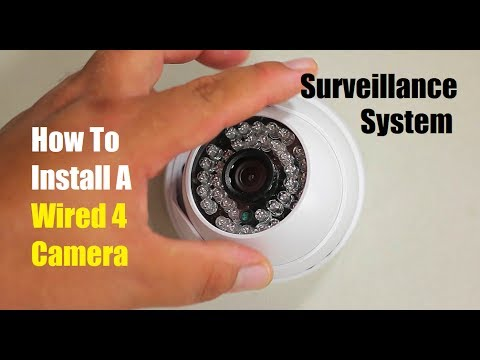 How To Install A Wired 4 Camera Surveillance System Canavis