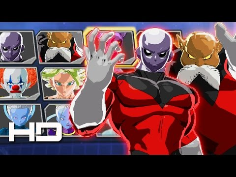 DRAGON BALL XENOVERSE 2 - All New Characters, Transformations & Costumes | Universe Survival Arc DLC