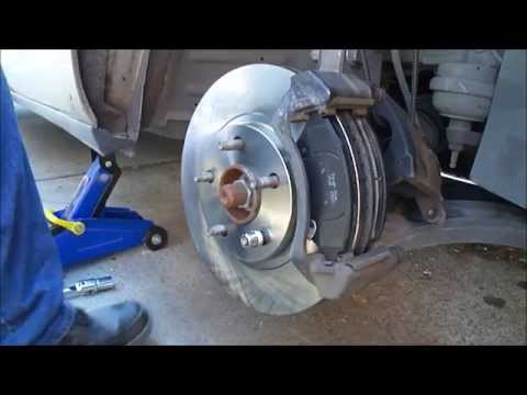 Cadillac DeVille Front Brake Pads and Rotor Replacement