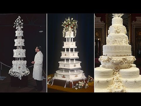 Prince Harry and Meghan Markle's wedding cake: royal bakes through the ages