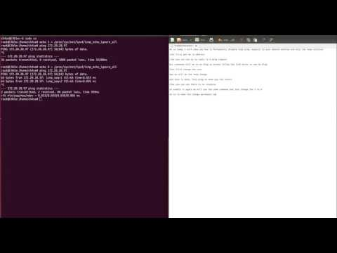 Ubuntu Disable ICMP / Enable ICMP (Ping) Temp and Permanent Solution